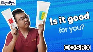 COSRX Low pH Cleanser vs COSRX Salicylic Cleanser | Head2Head