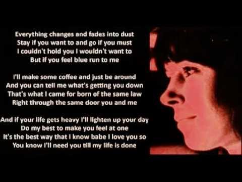 Lesley Duncan - Everything Changes (+ lyrics 1974)