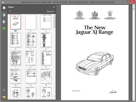 jaguar new xj series sedan 2005 - electrical guide - wiring diagrams