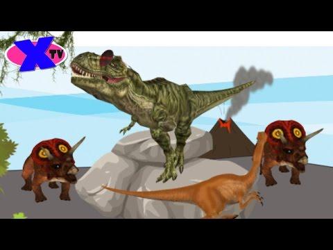 Песня про Динозавра! Тираннозавр REX! The Dinosaurs Song!