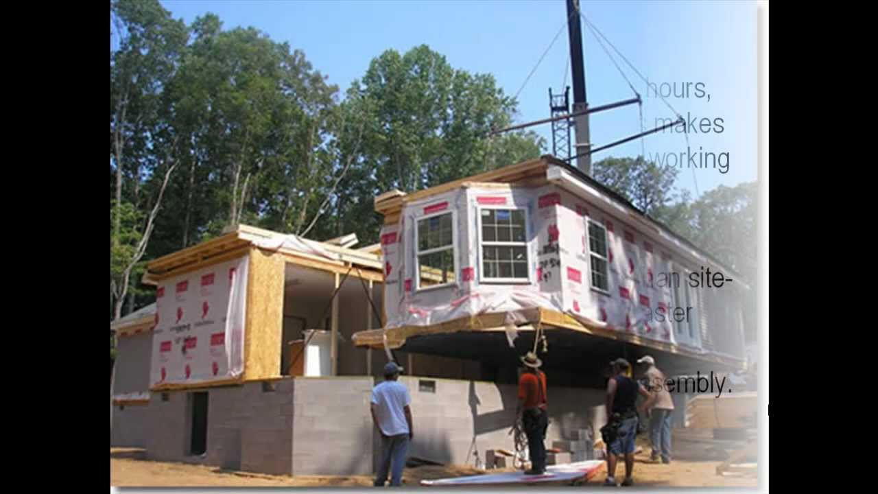 the difference between modular homes and manufactured homes - youtube