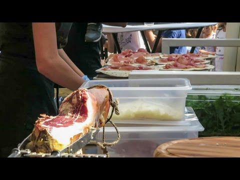 Parma Ham, Piadina, Roasted Meat and More Food from Emilia, Italy