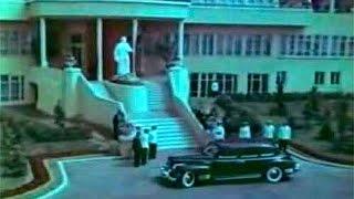 Руководители СССР - Сталин, Хрущев, Молотов, Берия прибыли на аэродром Тушино, 1951 г. Кинохроника