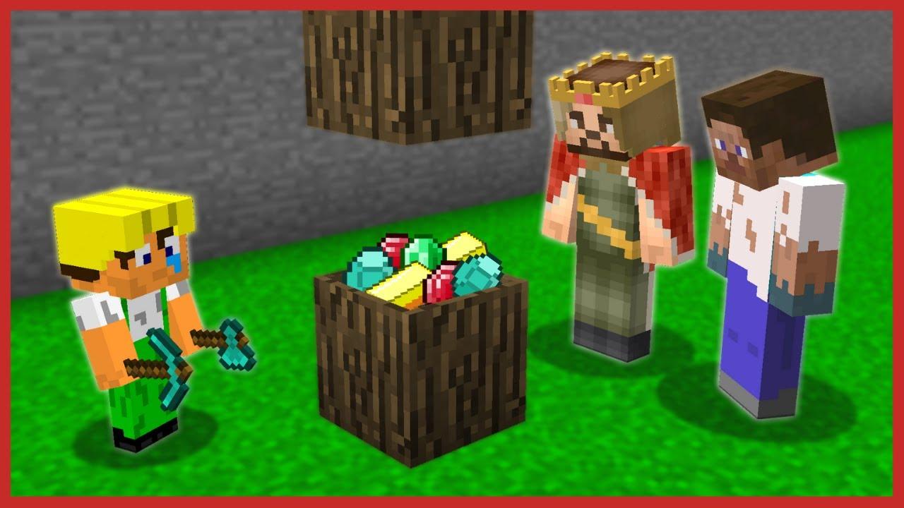 BEBEK İŞÇİ GİZLİ HAZİNE KASASI YAPTI! 😱 - Minecraft