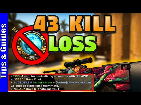I CAN'T CARRY - 43 Kill Loss On Mirage (Road To Global #2)