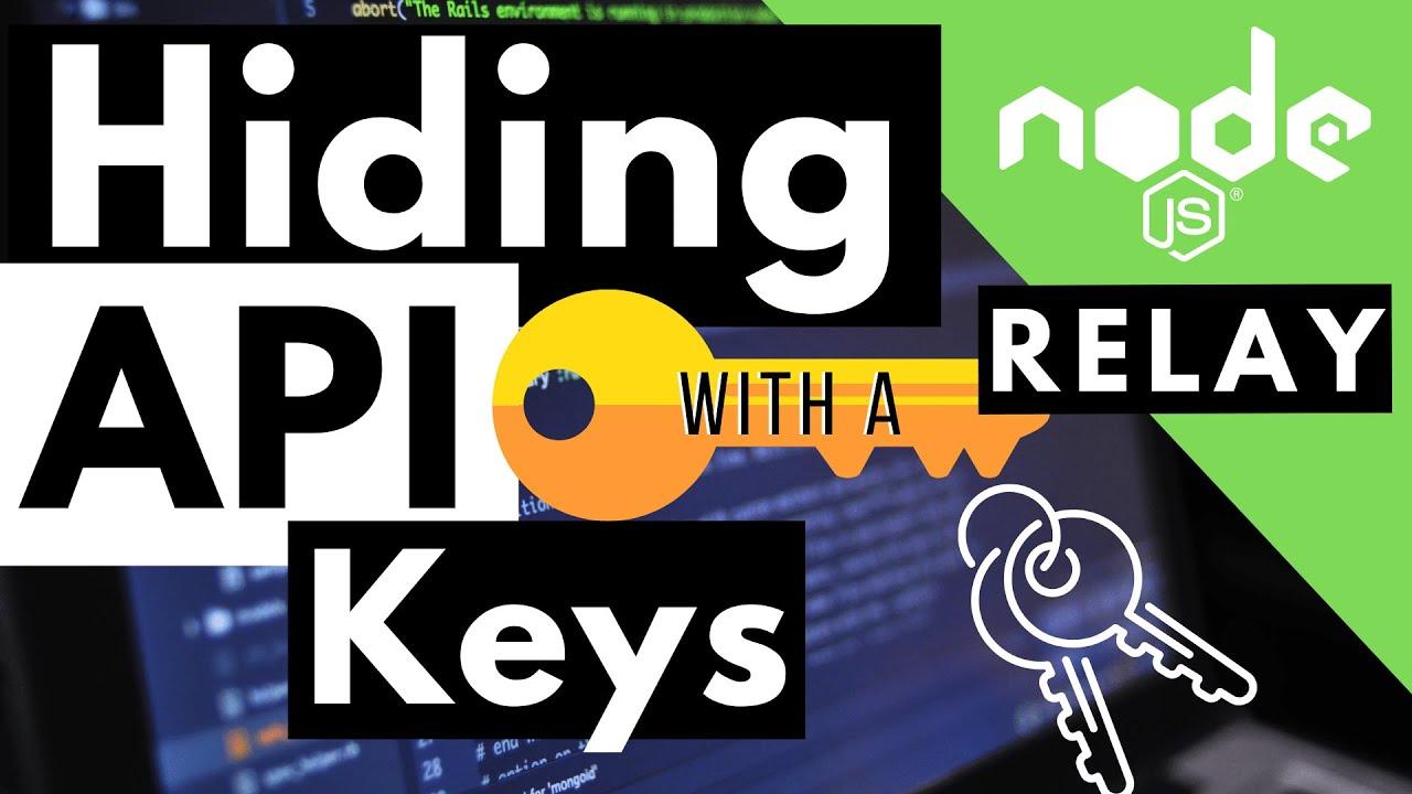 How to Hide API Keys with Node JS   Hiding API Keys with dotenv Environment Variables