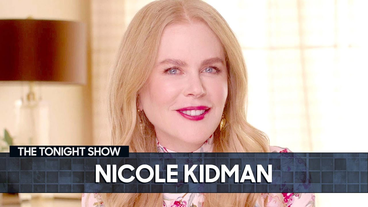 Download Nicole Kidman and Jimmy Can't Have a Serious Interview | The Tonight Show Starring Jimmy Fallon