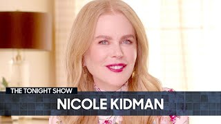 Nicole Kidman and Jimmy Can't Have a Serious Interview | The Tonight Show Starring Jimmy Fallon