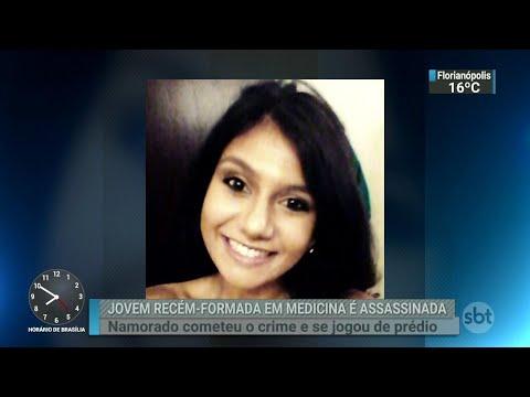 Jovem recém-formada em medicina é morta pelo namorado em Campinas | SBT Brasil (09/07/18)