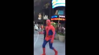 Moroccan Spiderman's Real fight after getting Abused in Times square !