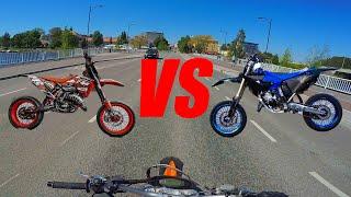 KTM EXC vs Yamaha YZ    Keulasuorien Kunkut Vertailussa! (ReUp)