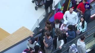 """""""الجمعة السوداء"""" تتسبب بأزمات سير خانقة في العاصمة عمان ( 29/11/2019)"""