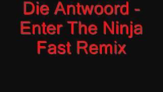 Die Antwoord - Enter The Ninja Fast Remix