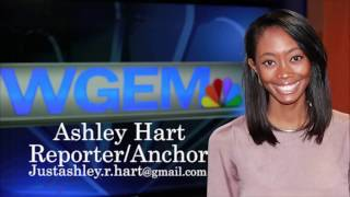 Ashley Hart, Reporter Demo Reel 2017