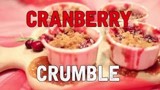 Cranberry Crumble  Taste Like Christmas