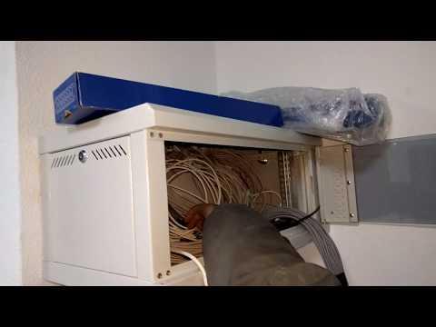 интернет ремонт подключение витая пара  сервер