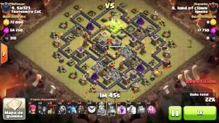 [Clash of Clans] CbLaLoon | TH9 | 3stars #044