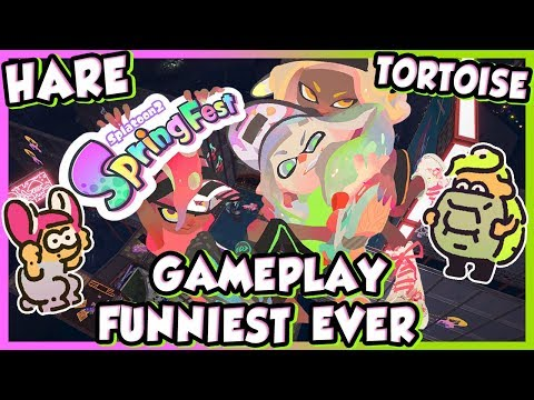 ABM: Hare Vs Tortoise !! Splatoon 2 SpringFest Gameplay !! ᴴᴰ