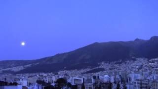 Zero 7 - Morning Song  Lyrics / Sunrise Quito-Ecuador