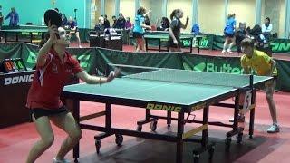 Александра САФРОНОВА - Анастасия ДОНЧЕНКО Настольный теннис, Table Tennis