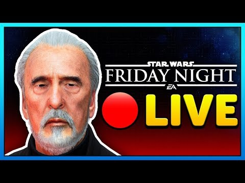 🔴 COUNT DOOKU is here! - FRIDAY NIGHT BATTLEFRONT - Star Wars Battlefront 2 Livestream thumbnail