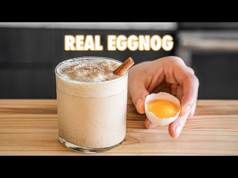 Super Easy Homemade Eggnog