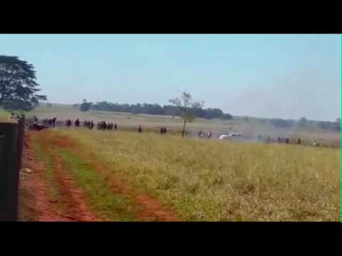 Attack against the Guarani Kaiowá, Brazil