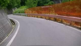 日本学生自転車競技連盟 個人ロードレースコース動画(奥木曽湖)