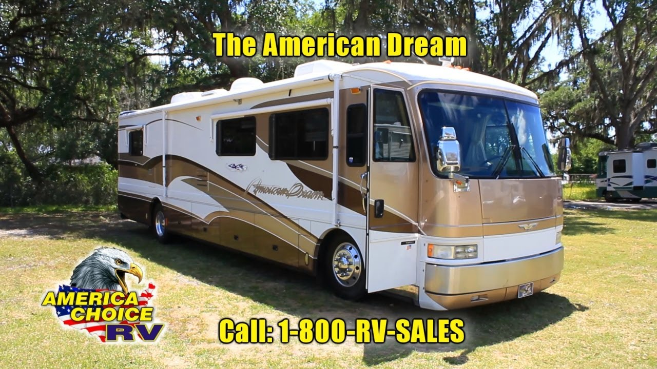 1999 american coach american dream 40dvs diesel pusher for American home choice