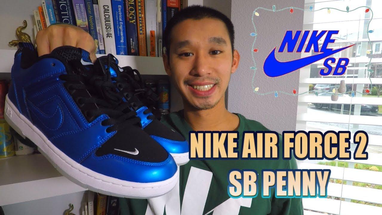 nike sb air force 2 low rivals