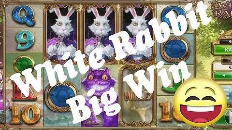 Online Casino Slots - White Rabbit Freispiele kaufen - Low bet Big Win
