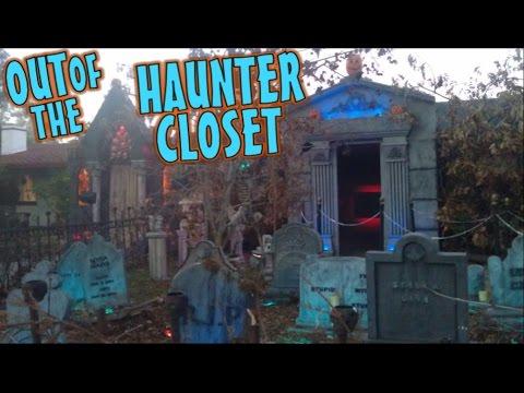 Halloween Yard Haunt Display Haunted Cemetery Day Time