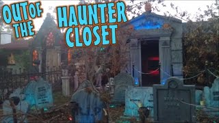 Halloween Yard Haunt Display: Haunted Cemetery Day Time Walk Through