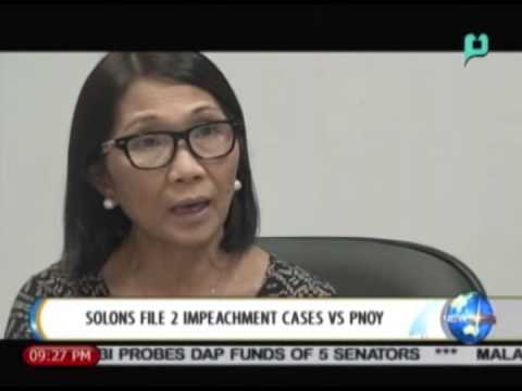 NewsLife: Solons file 2 impeachment cases vs. President Aquino || July 7, 2014