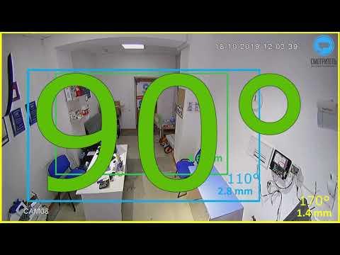Нужна ли камера видеонаблюдения на 170 градусов? Обзор камеры видеонаблюдения Si-Cam HL206F