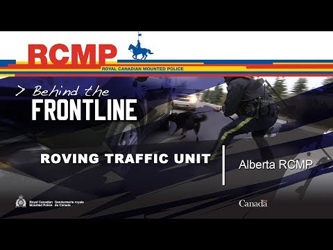Alberta RCMP Roving Traffic Unit