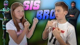 Fortnite Battle Royale - Sister vs. Brother | Sassy Sammy Returns