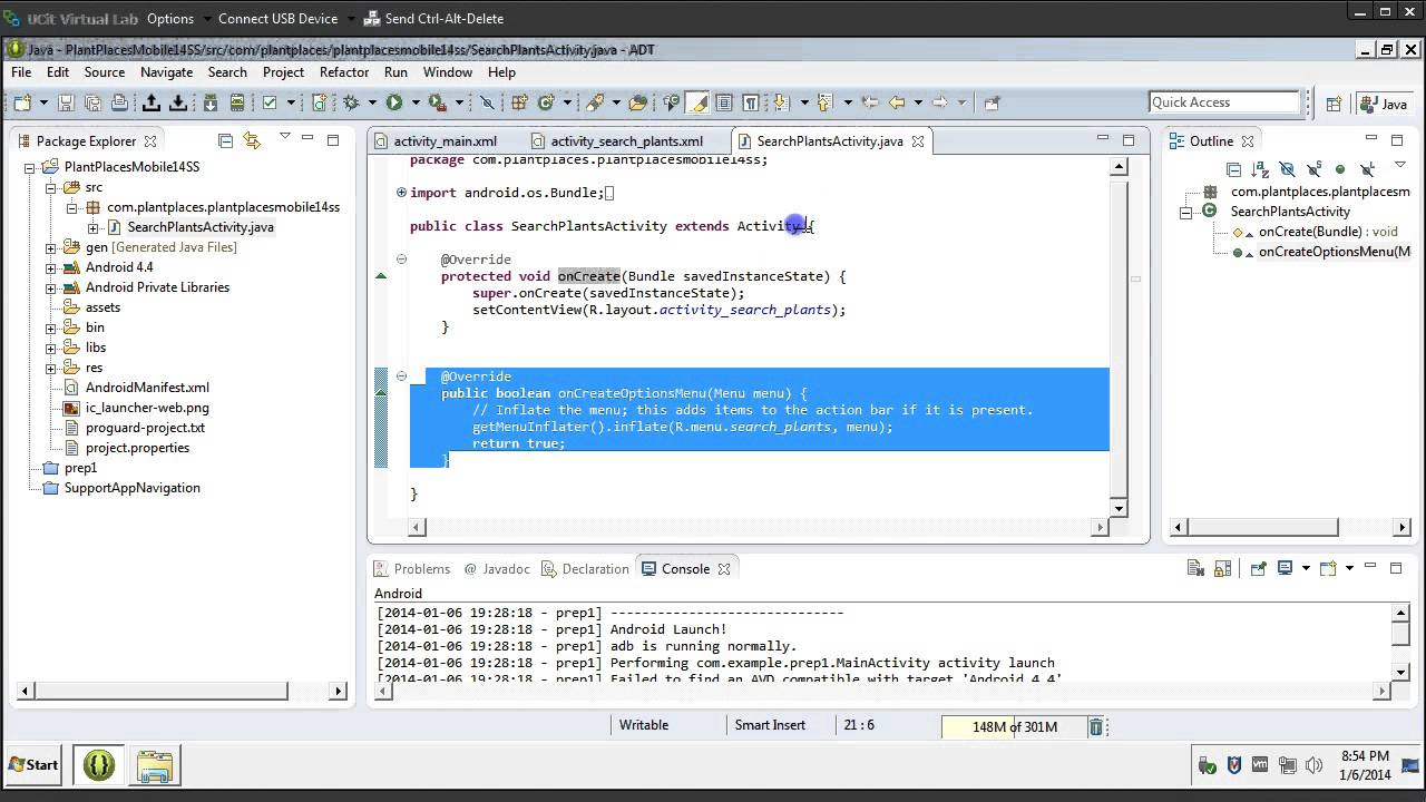 creating your first android app in eclipse