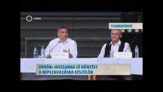 Tusványos - Orbán Viktor 2012 Thumbnail