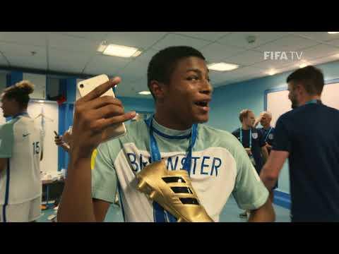 U-17 World Champions England celebrate in style!