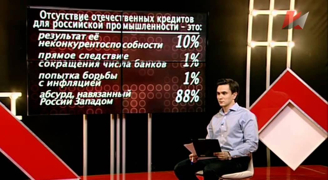 Провальная политика - провальная экономика (11.11.2014)