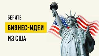 Новые бизнес-идеи из Америки // Выгодные ниши для малого бизнеса в России 16+