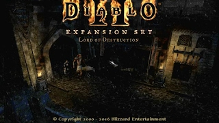 Diablo II - Lord of Destruction gameplay (PC Game, 2001)