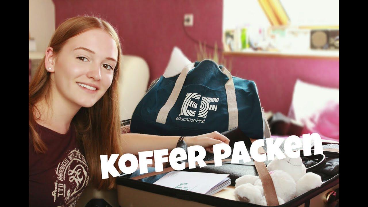Ich Packe Meinen Koffer Englisch