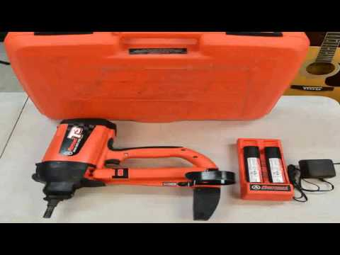ITW Ramset Red Head T3012 12 Steel pin with T3 Fuel Cell