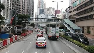 [Hong Kong Bus Ride] 九巴 ATR381 @ 238M 海濱花園 - 荃灣站 [全程行車影片]
