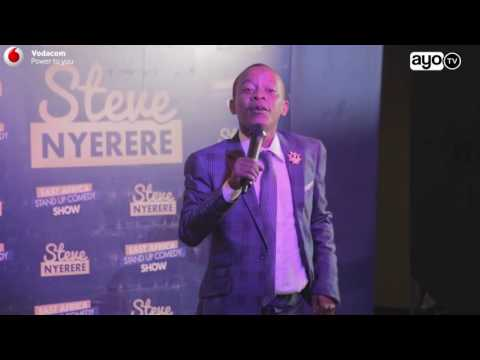 COMEDY: Steve Nyerere stand up comedy