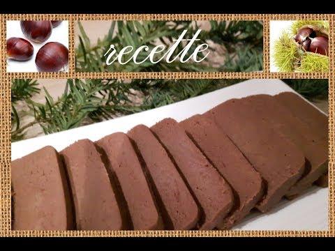 recette-facile-gâteau-châtaignes-et-chocolat-sans-oeufs