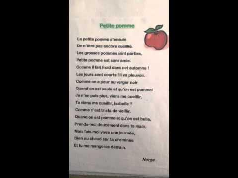 Berühmt Petite pomme ce2 - YouTube TC05