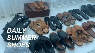 데일리 여름신발 하울 | 샌들,슬리퍼 추천 | Summ…